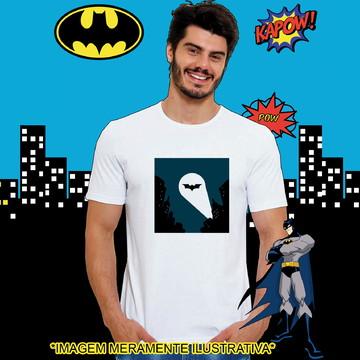 Camiseta Batman Reflexo Símbolo
