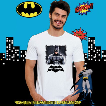 Camiseta Batman Herói Filme