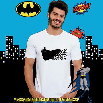 Camiseta Batman Capa com morcegos