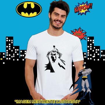 Camiseta Batman contorno Capa