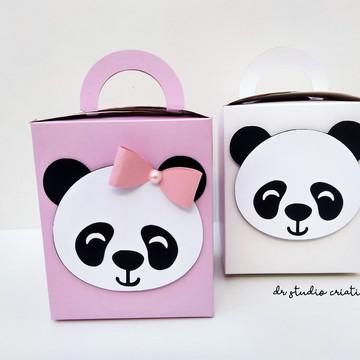 Caixinha Surpresa Personalizada - Panda