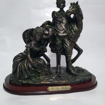 Escultura Cena Galante