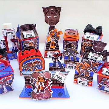 Kit Digital Arquivo Silhouette Transformers