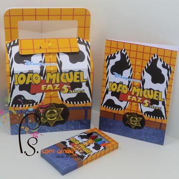 Kit de colorir na Maleta Toy Story