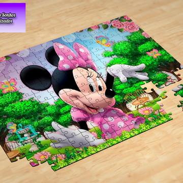 Quebra-Cabeça personalizado Minnie