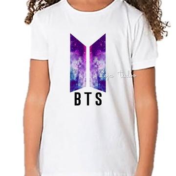 4fbcb65e1d Camiseta Camisa Infantil Unissex Bagtan Boys BTS Kpop K-pop no Elo7 ...