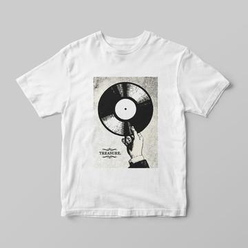 Camiseta Colecionador Vinil - vin11
