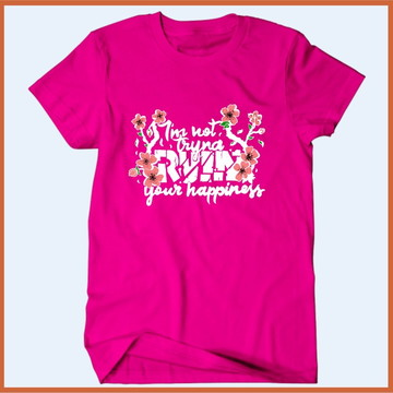 Camiseta Shawn Mendes - Im not trynd ruin your hapiness
