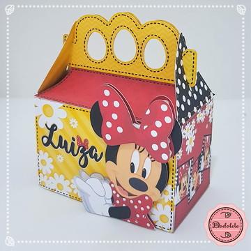 Minnie Vermelho - Caixa Presente