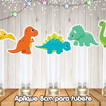 Aplique para tubete Dinossauro baby