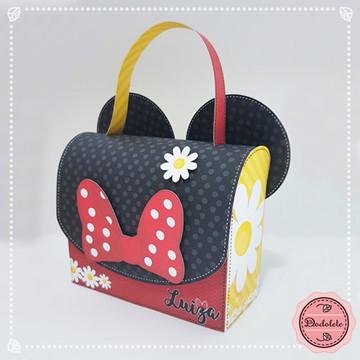 Minnie Vermelho - Caixa Sacolinha