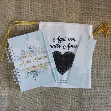 Diário da Noiva (Planner Noiva) - Capa Floral