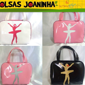 Bolsa Bailarina, Bolsa Ballet, Bolsa Balé, Bolsa Sapatilhas