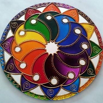 Mandala Cores em Movimento 2