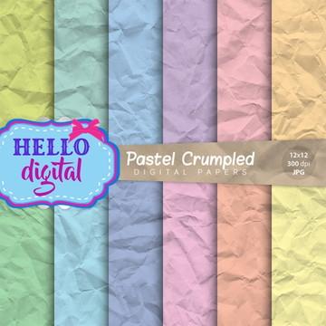 Kit Digital Pastel #1866