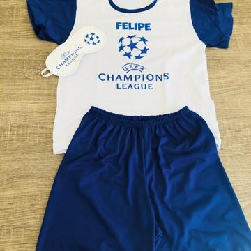 kit festa do pijama futebol
