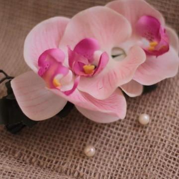 Arranjo Orquídeas em Silicone