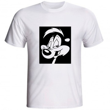 Camiseta Pepe Le Pew Pepe Le Gambá Warner Bros Desenho