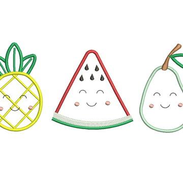 Matrizes de bordado - Frutas 011