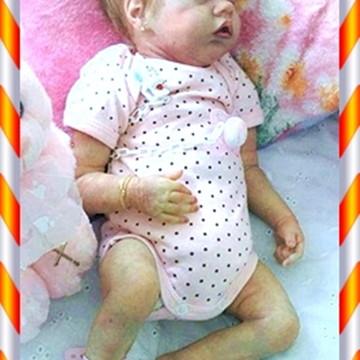 Boneca Bebê Reborn Silvia ou Silvio Kit Twin B Sem Enxoval