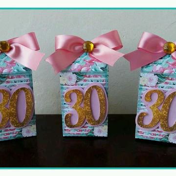 Caixa milk personalizada Tô nos 30, trintei