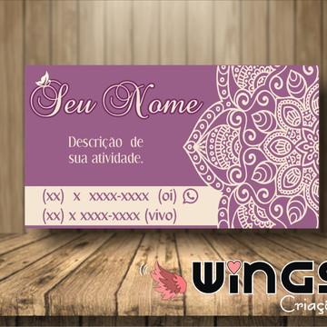 Cartão de Visitas Digital: Mandala