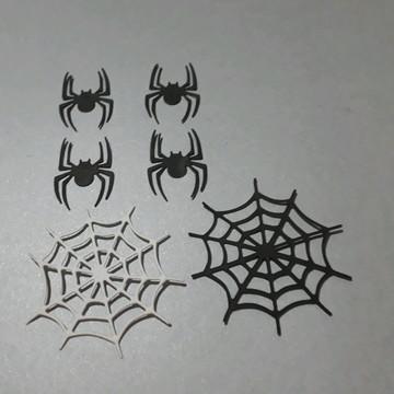 Festa do homem aranha teia + aranha.