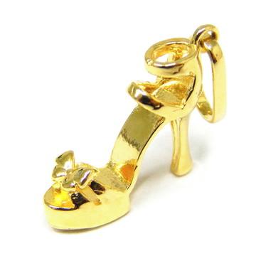 4daa39d0cd Pingente Sapato Meia Pata Em Ouro 18k