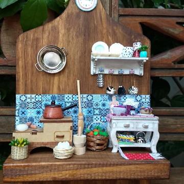 Porta Chaves Cenário Cozinha