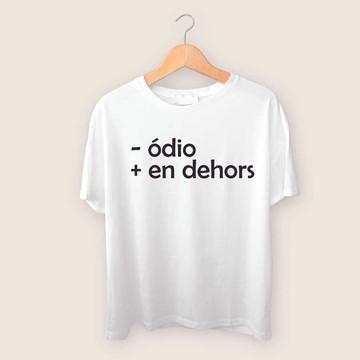 Camiseta - ódio + en dehors