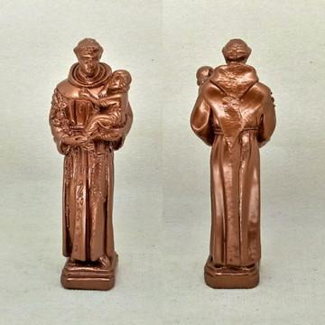 Santo Antônio imagem escultura estátua gesso 30 cm axé