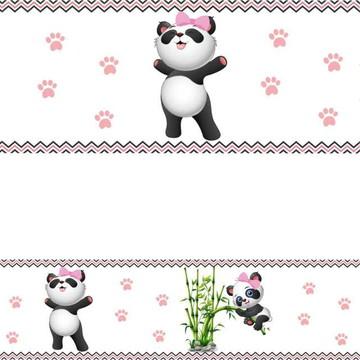 Faixa Ursinha Panda Ursinho Panda