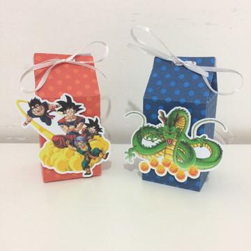Caixa Milk - Dragon Ball Z