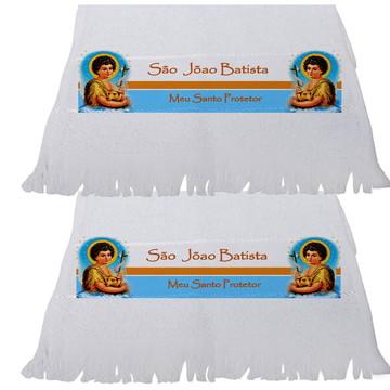 Toalha Personalizada - São João Batista - Santos - Novena