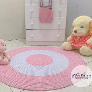 Tapete quarto de bebê menina