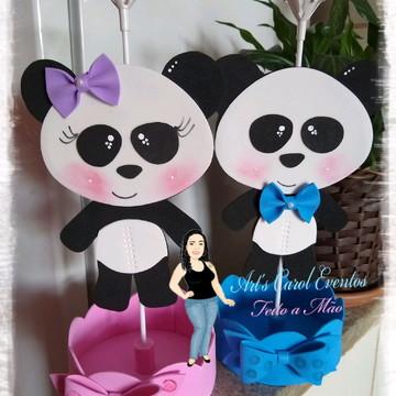 Centro de mesa Panda