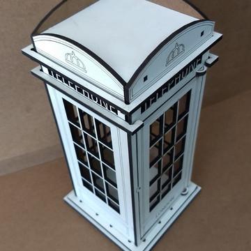 Mini cabine telefonica londres