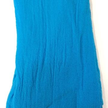 Meia de seda Azul turquesa