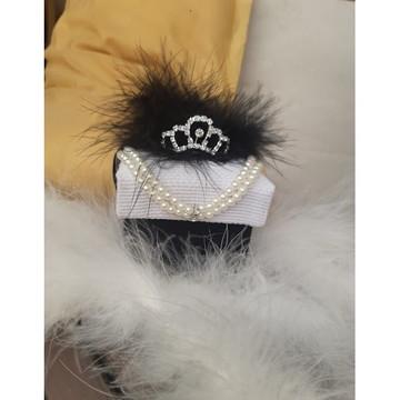 Caixa princesa coroa e pérolas lembrancinha debutantes