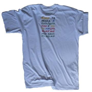 Camiseta Adulto em malha PET