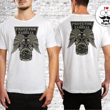 Camiseta Dia Dos Pais Personalizada Protetor Da Família 03