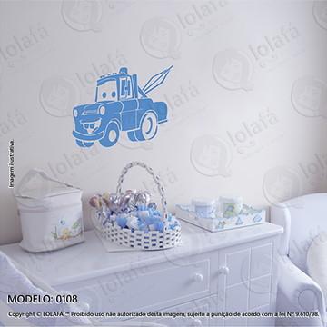 Adesivos para Quarto de Bebe Parede 60x46cm Carro