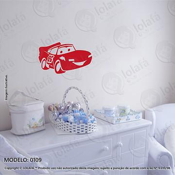 Adesivos para Quarto de Bebe Parede 50x29cm Carro