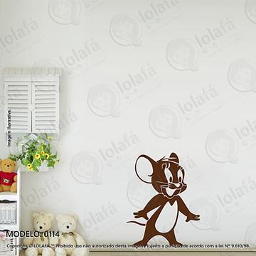 Adesivos para Quarto de Bebe Parede 60x77cm Tom e Jerry