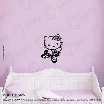Adesivos para Quarto de Bebe Parede 40x52cm Hello Kitty