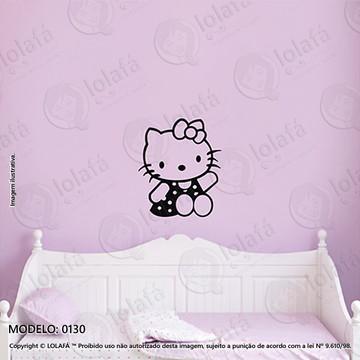 Adesivos para Quarto de Bebe Parede 40x47cm Hello Kitty
