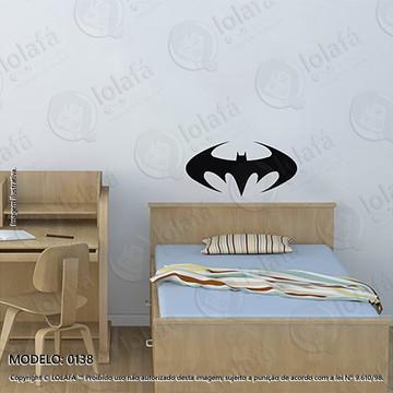 Adesivos para Quarto de Bebe Parede 60x29cm Batman