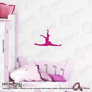 Adesivos para Quarto de Bebe Parede 50x31cm Bailarina