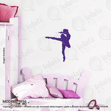 Adesivos para Quarto de Bebe Parede 40x51cm Bailarina