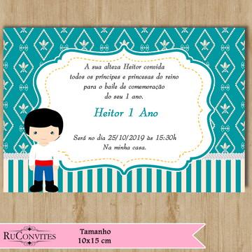 Convite Príncipe (003)